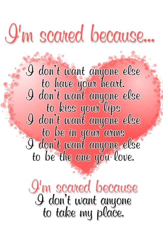 i don t want anyone else