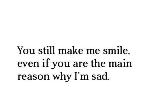 Love makes me stupid